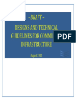 Design guidelines for community infrastructure of rural areas