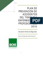 ACHS Plan Prevención 2016
