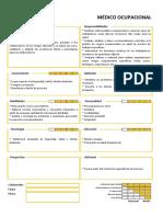 Perfil del puesto - Médico Ocupacional