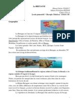 Referat Franceza-Bretagne CLASA a 6