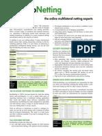 Euro Netting Single Sheet