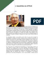 Doctorados y Maestrías en El Perú
