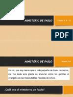 Leccion 09 Ministerio de Pablo