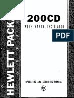 200cd /cdr service manual