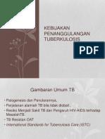Materi MD1-Kebijakan Program Penanggulangan TB