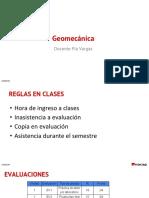 Geomecánica aplicación