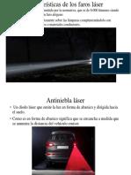Características de Los Faros Láser3