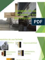 - Patologías de Las Fachadas y Sus Revestimientos