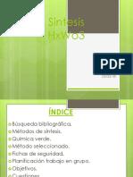 Sintesis HxWo3