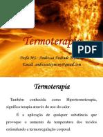 3 Período Aula 9 - Hidroterapia TERMOTERAPIA