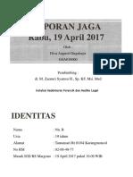 Laporan Jaga Forensik Diva