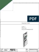 Electric Circuit Diagram PLC Board AllenBradley ML1500 ANALOG