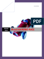 Rules for Robarace