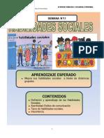 SEMANA 11 - Habilidades Sociales