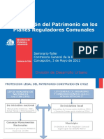 Plan Regulador y Patrimonio