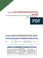 Gui Asiga 2018