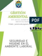 Seguridad e Higiene en El Ambiente Laboral