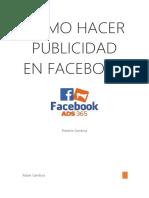 Guia definitiva cómo hacer publicidad en Facebook