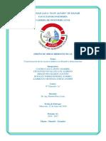 Características de los recursos hídricos de Manabí