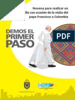 Novena a Las Familias Visita Apostolica Del Papa Francisco 2017