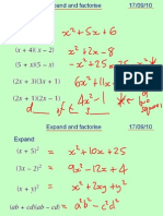 Core1 Expand and Factorise 170910
