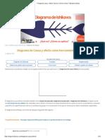 _ Diagrama causa - efecto_ Qué es y cómo se hace + Ejemplo práctico