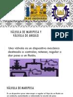 Válvula de Mariposa y Válvula de Angulo