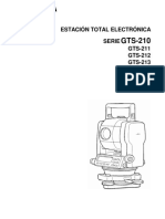 GTS-210 Estacion Total