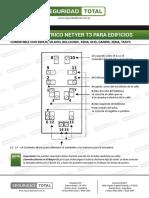 Conexionado Portero Eléctrico Netyer T3