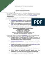 Anexo III - Documentacao Contratacao