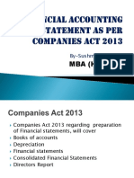 Financial Accounting Standards(as) as Per Companies Act-1