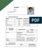 Prof. Ishwar Singh