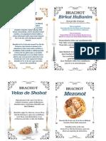 Benção Diarias Judaicas