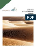 Actix Radioplan Generic Measurement Import Guide 3 12