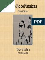 Folleto Del Padre Pio de Pietrelcina