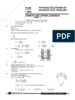 ALP Sol P Calorimetry and Thermal Expansion E
