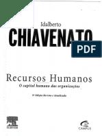 IDALBERTO CHIAVENATO RECURSO HUMANOS.pdf