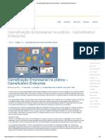 Gameficação Empresarial na prática - Gamefication Enterprise -