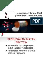 4. Perubahan Distribusi Obat