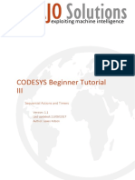 CODESYS Sequences Tutorial
