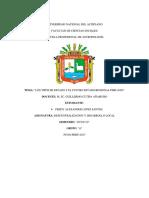 Los Tipos de Estado y El Futuro Estado Regional Peruano- Descentralizacion y Desarrollo Local