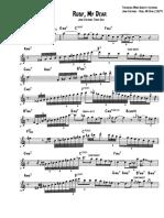 John Coltrane on Ruby My Dear (Bb-Instruments)