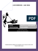 Informe Bioetica e Implantes Cocleares en Menores - VIANNEY SIERRALTA ARACENA