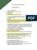 Curso Invierte Examen Peter Lazaro