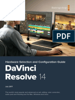 DaVinci Resolve 14 Configuration Guide
