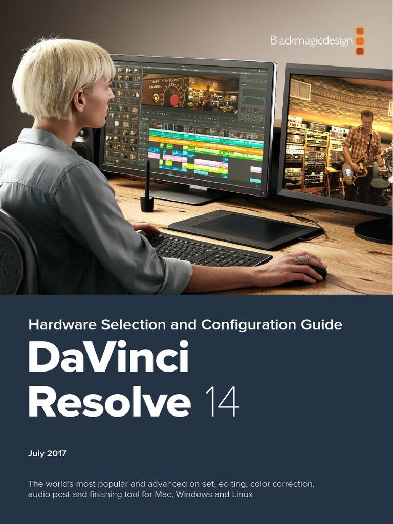 DaVinci Resolve 14 Configuration Guide | Graphics Processing
