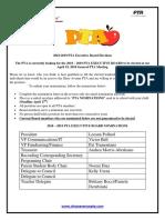 shaw avenue pta executive board nominations 2018-2019