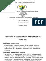Contrato de Colaboracion y Prestacion de Servicios