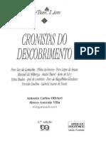 [E-book] Cronistas Do Descobrimento- Antônio Oliviere e Marco a. Vila (Org)