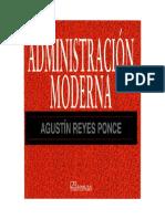 Administ Racin Modern A